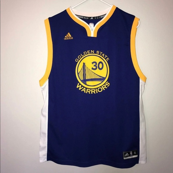 NWOT Youth Steph Curry Jersey